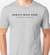 Minute Maid Park Lat/Long Unisex T-Shirt