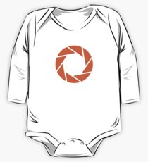 Aperture Science · Orange Emblem One Piece - Long Sleeve