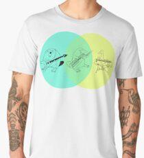 Keytar Platypus Venn Diagram Men's Premium T-Shirt