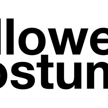 Halloween Costume Sarcastic Text - Black by turnupthefader