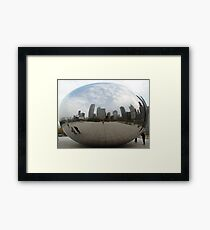 Smooth Bubble Framed Print