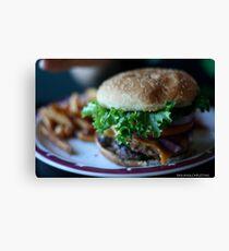 Burger Canvas Print
