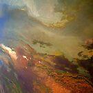 Aerial Great Salt Lake by Dana Roper