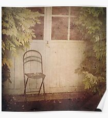 _ empty chair _ Poster
