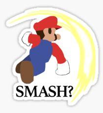 Super Mario Smash? Sticker