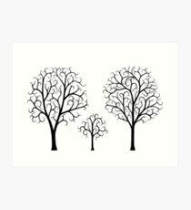 Small Tree Family Art Print
