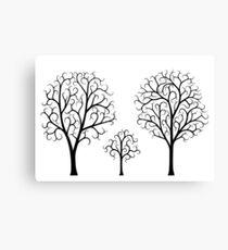 Small Tree Family Canvas Print
