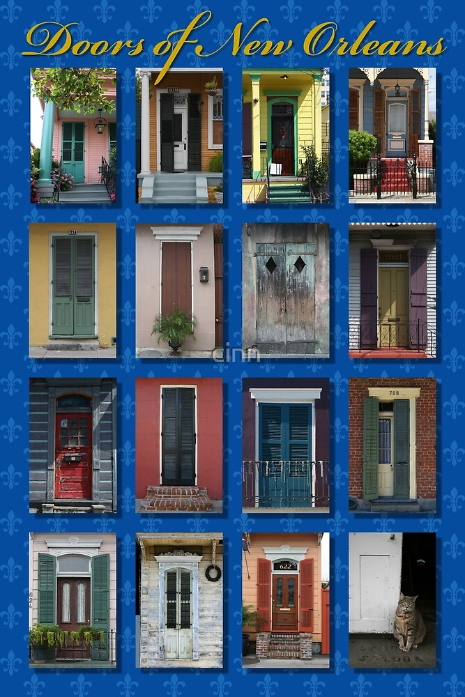 Doors of New Orleans by cinn