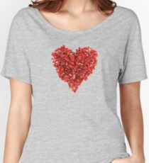 Voxel Heart Women's Relaxed Fit T-Shirt