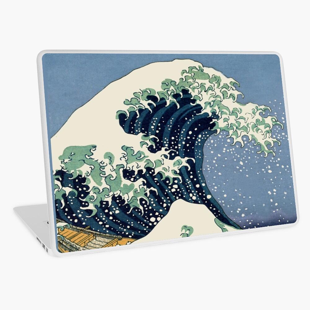 The Great Wave by Katsushika Hokusai Laptop Skin