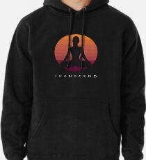 Transcend - Transcendental Meditation Retro Art Pullover Hoodie