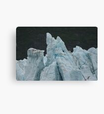 Blue Glaciers Canvas Print