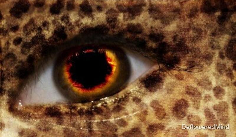 Fiery Eye by DefloweredMind