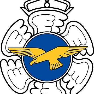 Emblem of the Finnish Air Force  by abbeyz71