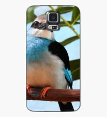 Blue-Breasted Kingfisher Case/Skin for Samsung Galaxy