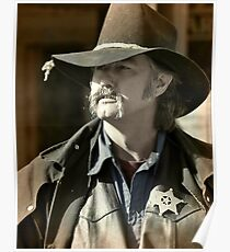 Bygone Time Sheriff Poster
