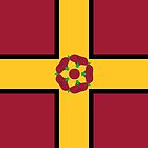 Northamptonshire Flag Phone Cases  by mpodger