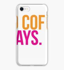 iced coffee iPhone Case/Skin
