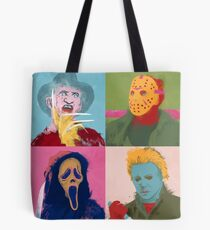 Horror Warhol Tote Bag