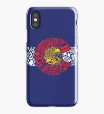 Colorado Flag Knitting Crochet iPhone Case/Skin
