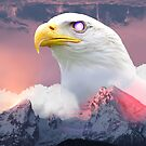 Mystic Eagle in the Sky by sjolivieri