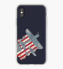 USA Pacific War Air Force Patriot iPhone Case