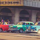 Primary Color Classic Cars Havana Cuba Matte Finish by joancarroll