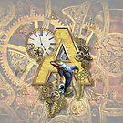 Capital Alphabet Monogram A  by NadineMay