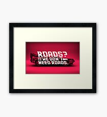 Back To The Future Multiply Framed Print