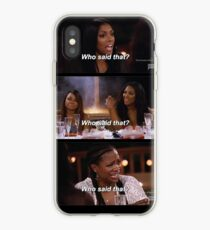 Who Said That? iPhone Case