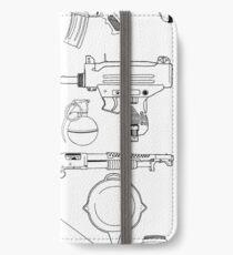 Playerunknown's Battlegrounds The Arsenal - PUBG Black iPhone Wallet/Case/Skin