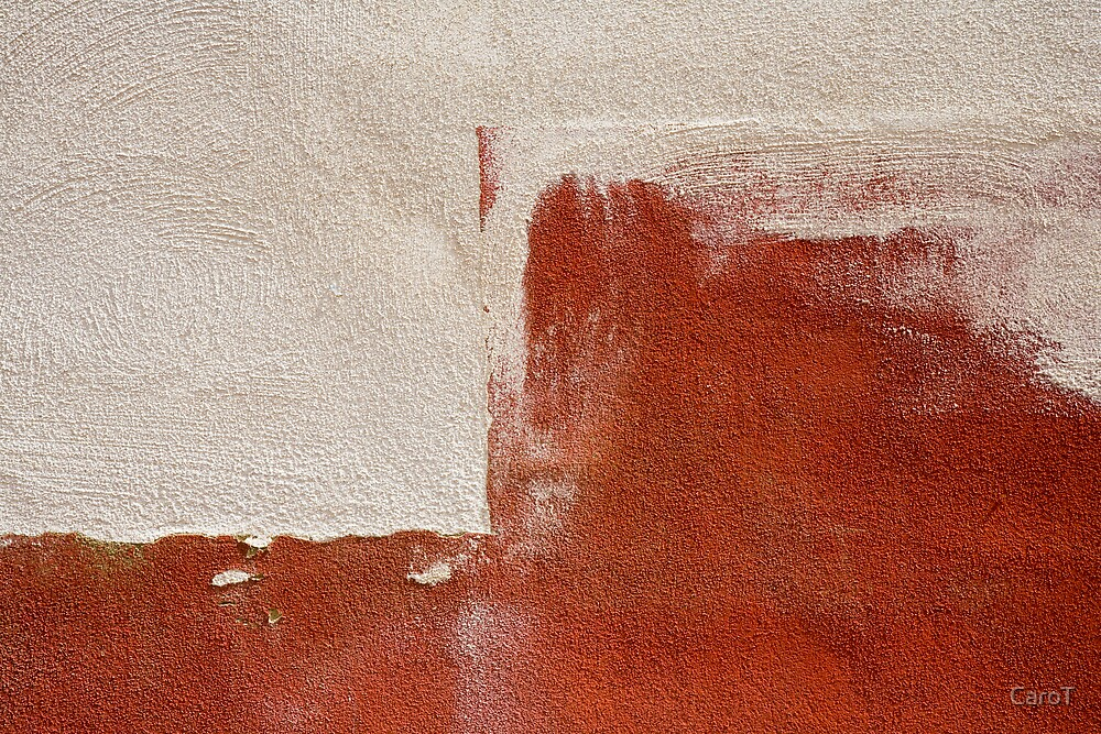 Red & White Wall by CaroT
