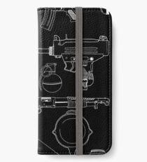 Playerunknown's Battlegrounds The Arsenal - PUBG White iPhone Wallet/Case/Skin