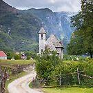Theth Church - Albania - Shkoder by Igli Martini Kocibelli