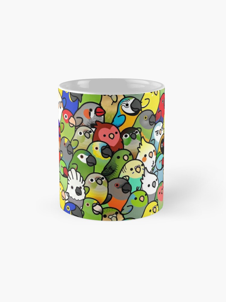 Alternate view of Everybirdy Pattern Mug
