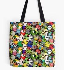 Everybirdy Pattern Tote Bag