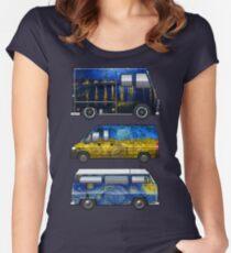 Gogh Van (s) Women's Fitted Scoop T-Shirt