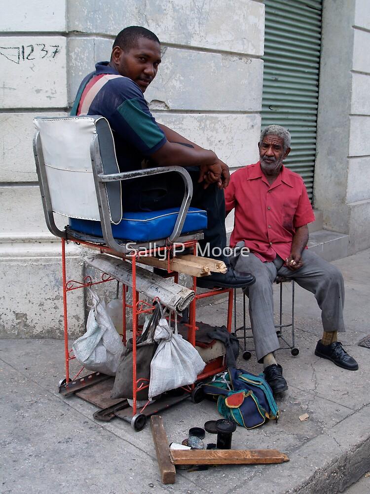 Shoeshine Anyone? by Sally P  Moore