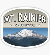 Mt. Rainier Sticker