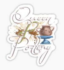 Queen of Pottery Aesthetic Noble Design Sticker