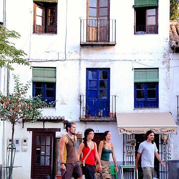 Plaza Santa Maria, Granada by ShiningBrother