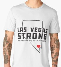Las Vegas Strong - What happened here will be remembered Men's Premium T-Shirt