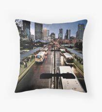 Brisbane Busway Throw Pillow