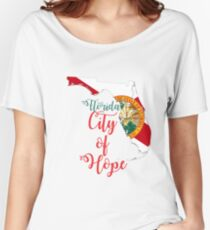 Florida City of Hope Women's Relaxed Fit T-Shirt