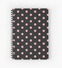 Porker Dot (black) Spiral Notebook