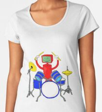 Drum Machine Women's Premium T-Shirt