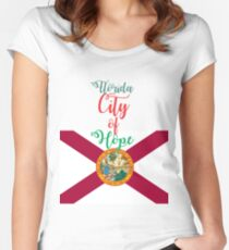 Florida City of Hope Women's Fitted Scoop T-Shirt
