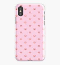 Porker Dot (pink) iPhone Case/Skin