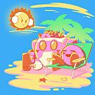 Day at the beach  by coinbox tees