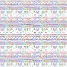 Pastel Tribal Elephant Pattern by julieerindesign